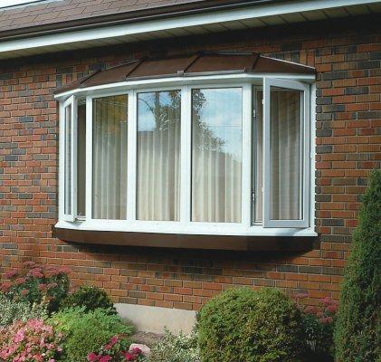 D bay window exterior